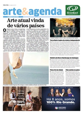 Front Page of Arte & Agenda