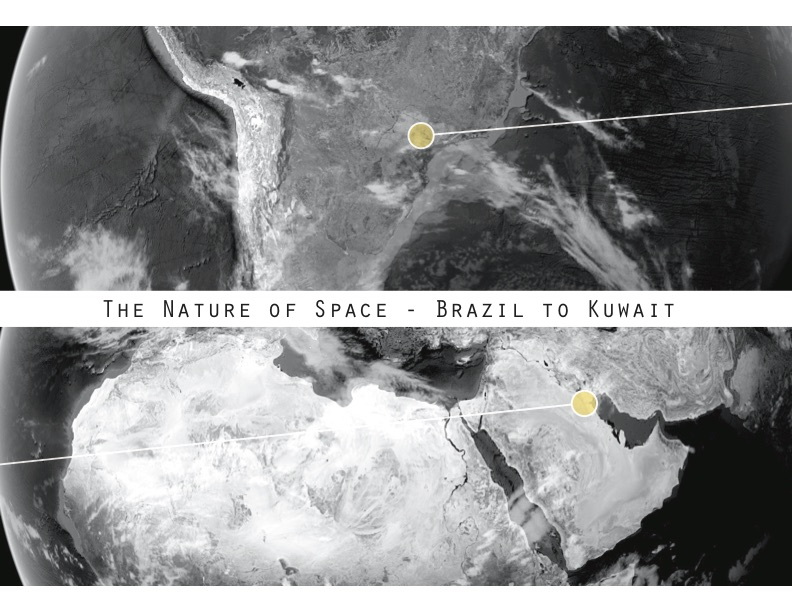 Lecture Poster | The Nature of Space - Brazil to Kuwait