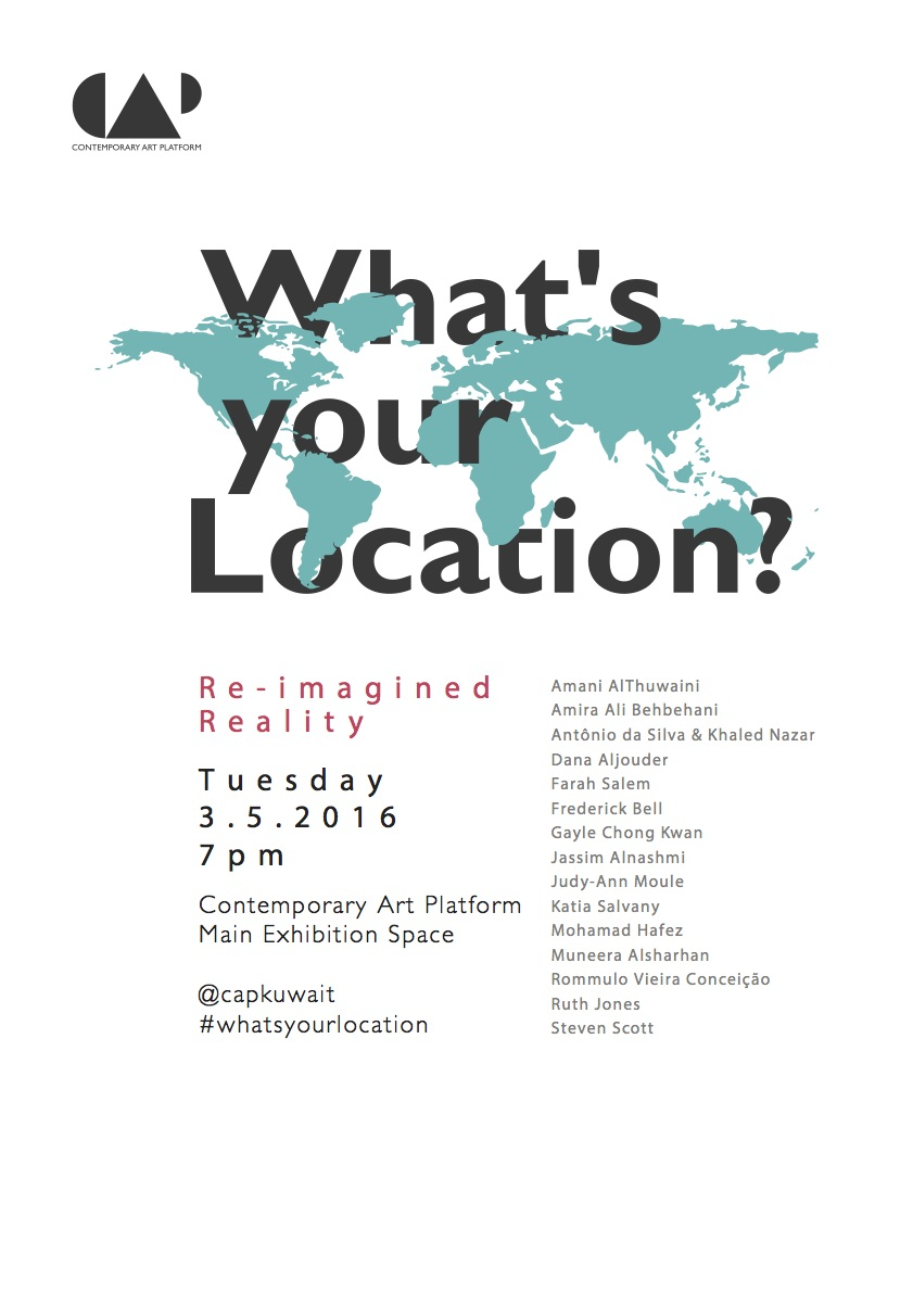 What's Your Location?Exhibition Poster